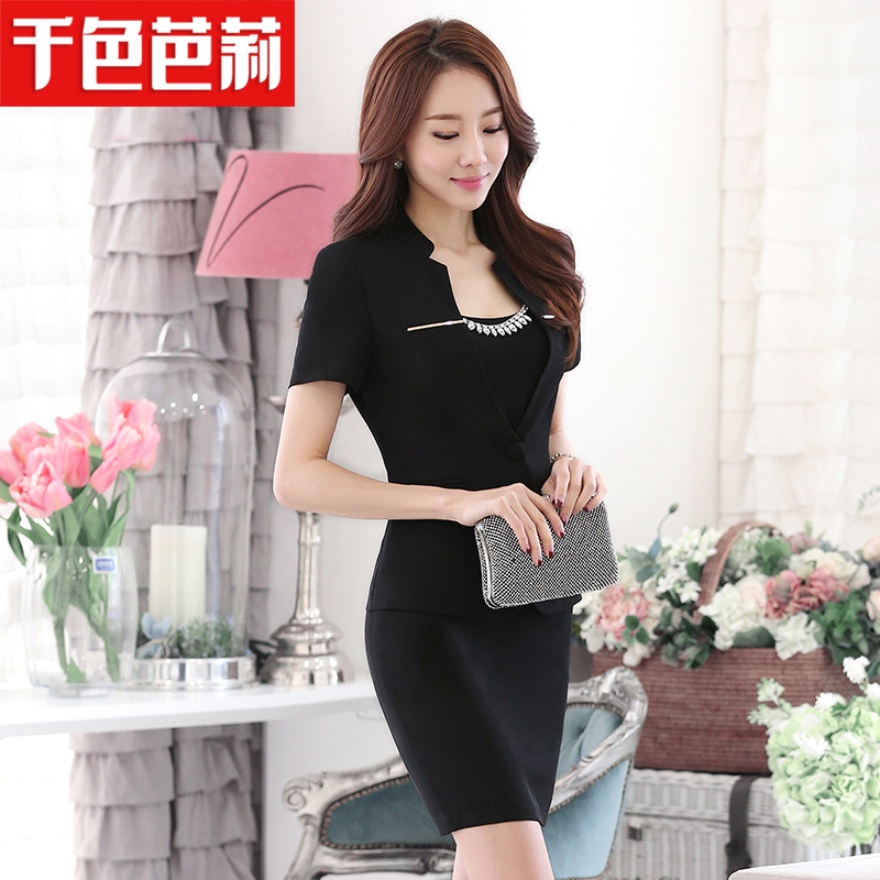 Thousands of colors barry summer wear women's suits slim career women dress women career suits career skirt suits overalls
