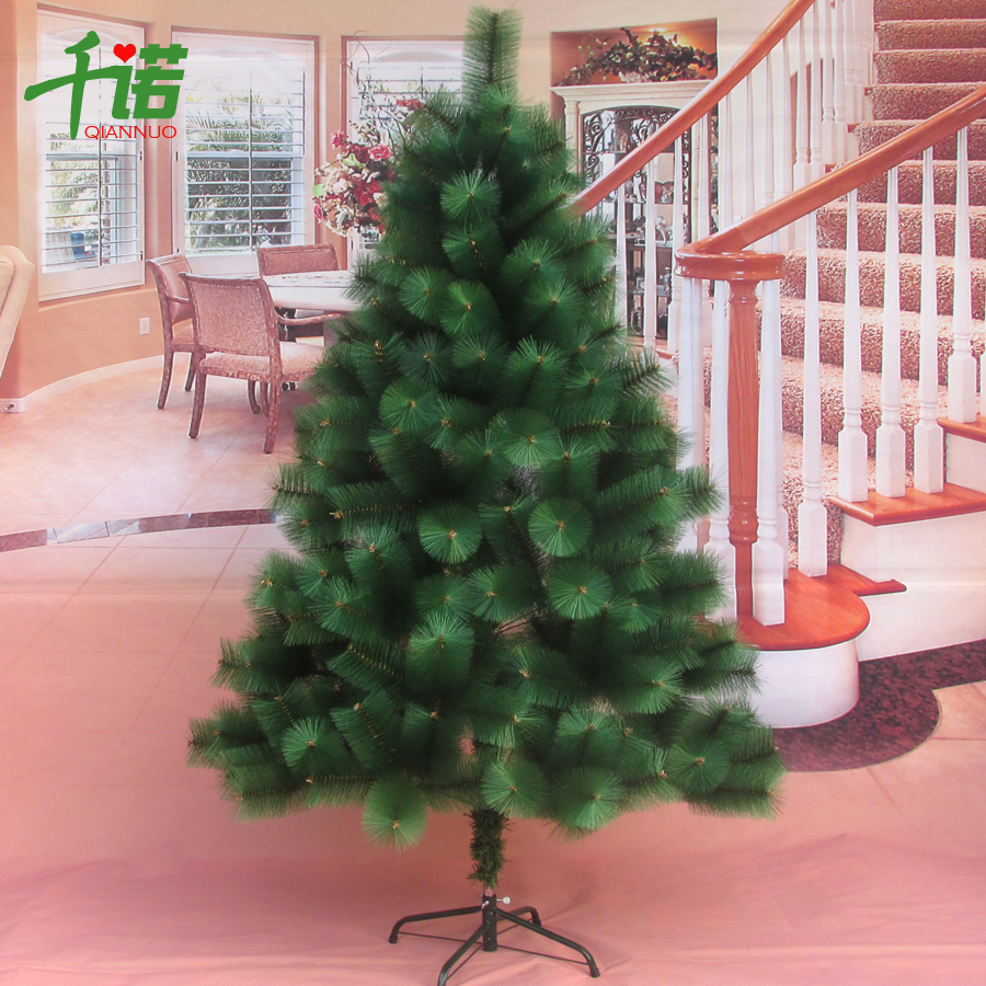 Thousands of connaught christmas tree full of pine needles simulation christmas tree 180cm luxury encryption christmas tree 1.8 m pine trees