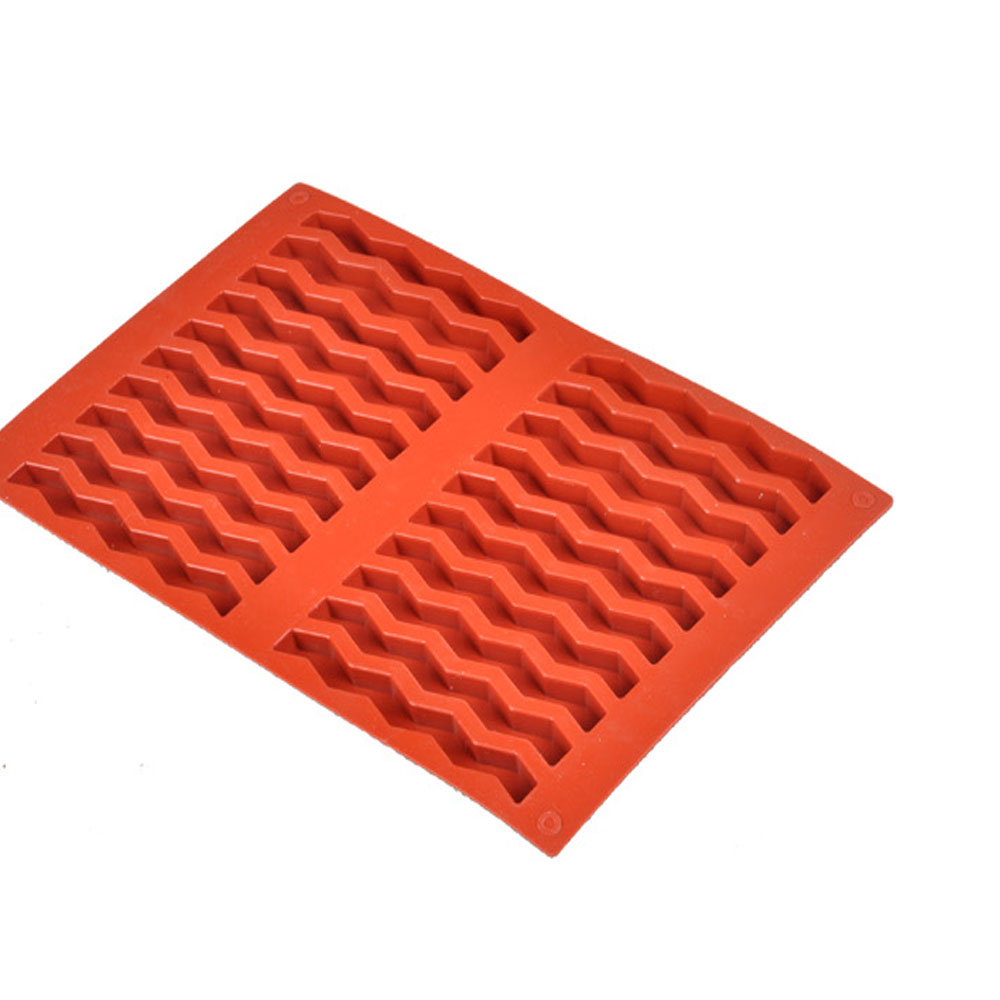 Thousands of groups seiko baking mold chocolate bars biscuit mold water ripples shape