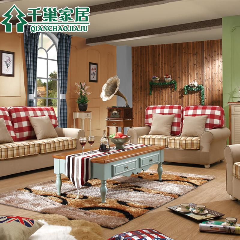 Thousands of united states nest home living room furniture mediterranean american country coffee table coffee table wood coffee table tea table small apartment