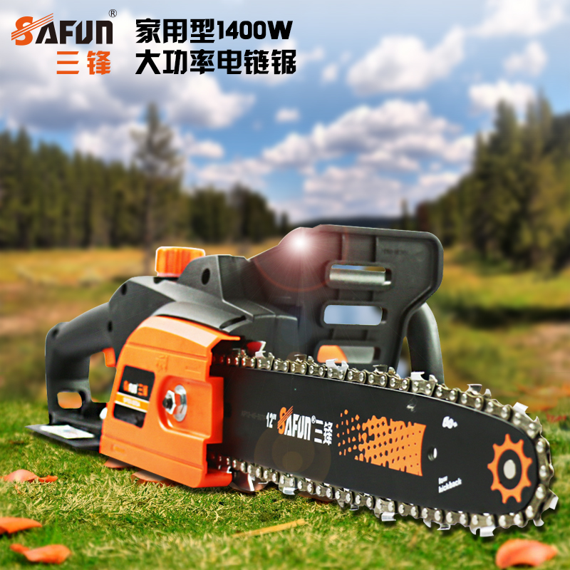 Three front electric chain saws sf03-305a article 12 of household power electric chainsaw logging chain saw woodworking saws chainsaw