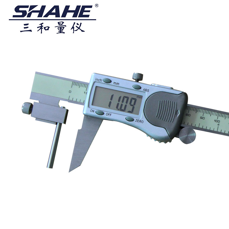 Three thick schistous digital caliper 0-150 0-200 mikes 0-300 test tube thick tube wall thickness thickness Mikes