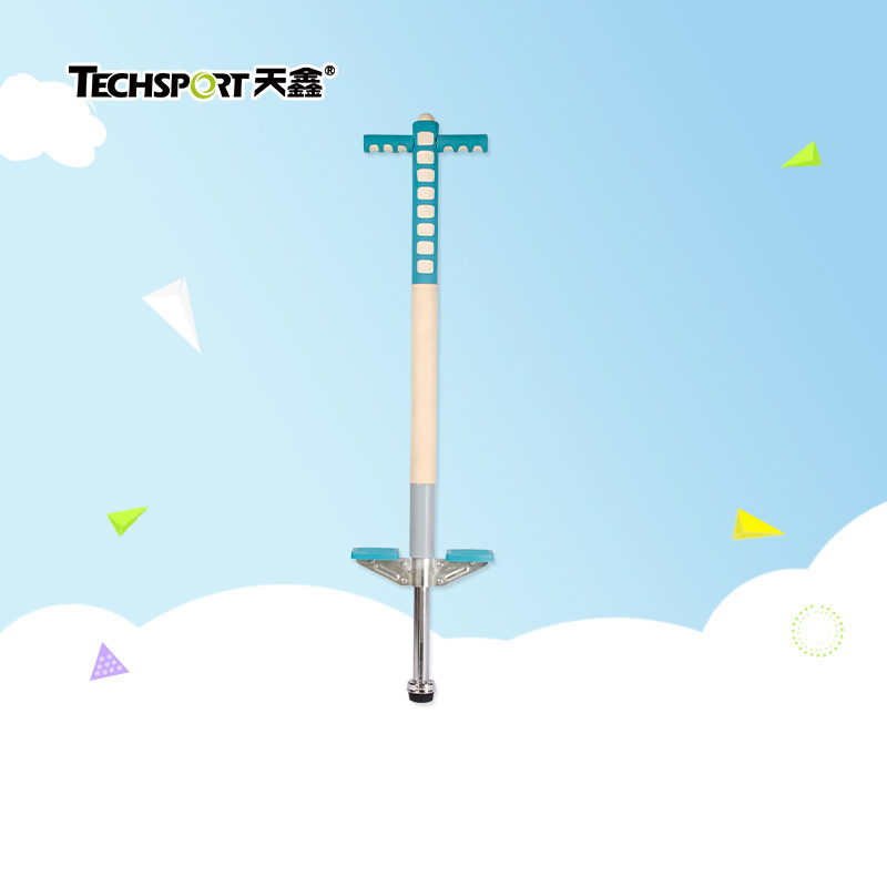 Tianxin children jumping pole single pole double pole bouncing baby jump beng bengtiao bouncing rod spring adult youth