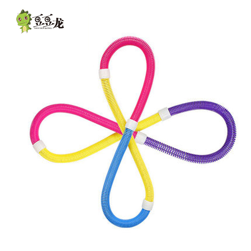 Tigger adult hula hoop thin waist and abdomen slimming fitness equipment to lose weight elastic soft spring hula hoop heavier