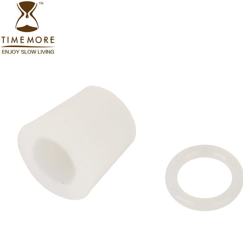 Timemore siphon coffee maker dedicated silicone accessories pipe glue + silicone ring a suit