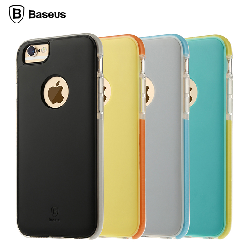 Times thinking iphone6 apple phone shell mobile phone sets s creative fangshuai whole edging protective sleeve 4.7 new matte shell
