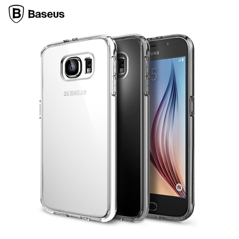 Times thinking the samsung GALAXYS6 s6 s6 phone shell mobile phone sets samsung transparent protective cover protective shell mobile phone sets