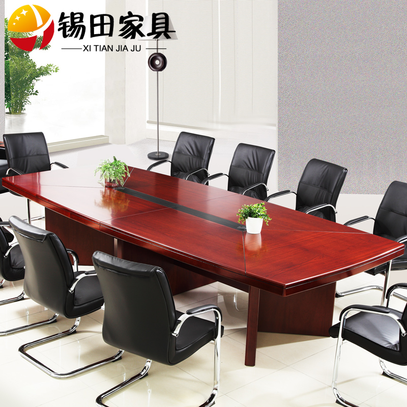 Get Quotations · Tin Tin Office Furniture Conference Table Long Conference  Table And Chairs Combination Minimalist Modern Bar Table