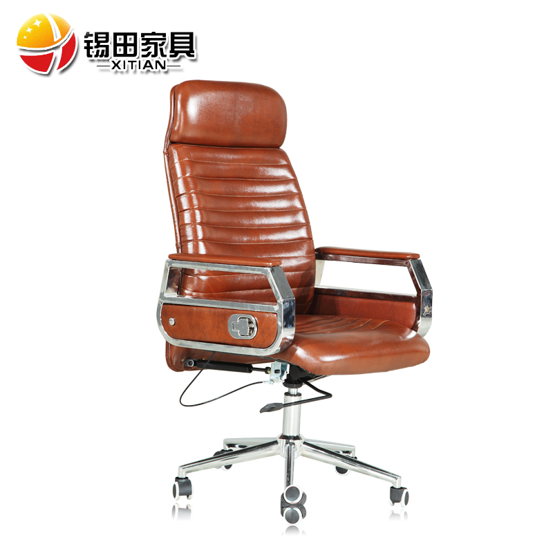 Tin tin office furniture swivel chair lift chair boss chair manager chair korea leather reclining specials