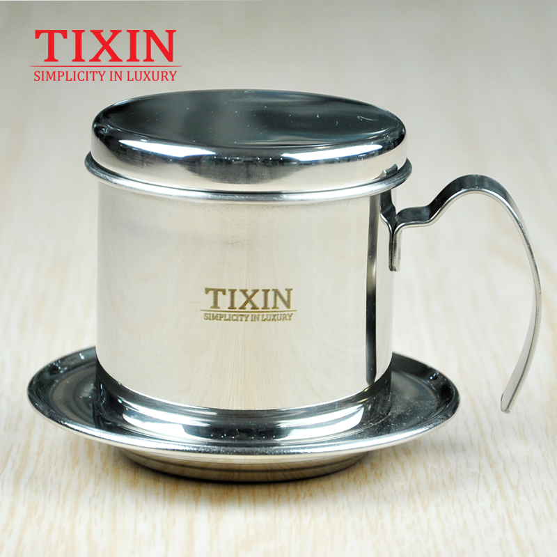 Tixin/letter viet nam brew kettle stainless steel household ladder hand punch drip coffee maker tea Appliances