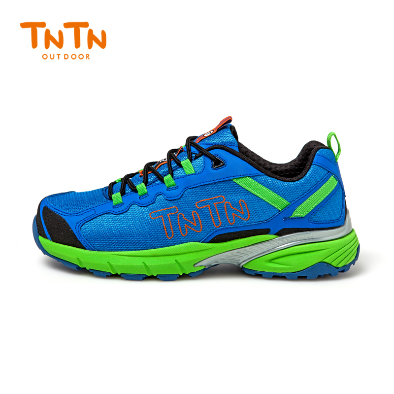 Tntn korea spring and summer outdoor breathable slip collision sport mesh hiking shoes hiking shoes cross country running shoes