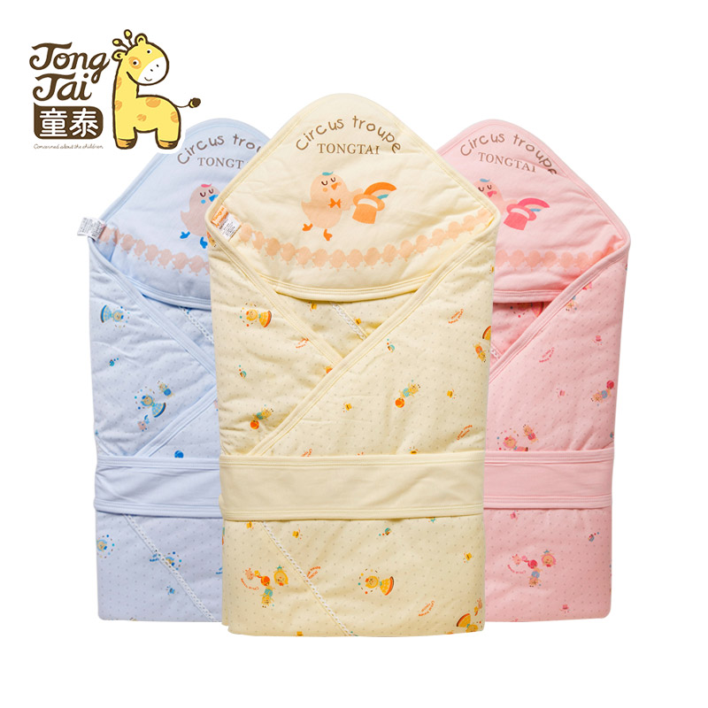 Tong thai baby fall and winter blankets newborn hold is coated baby was coated in autumn and winter baby newborn supplies