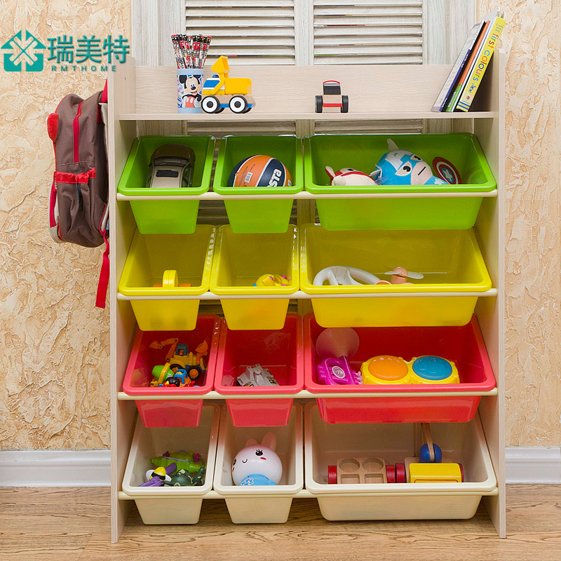 Get Quotations · Toy Shelf Aircraft Finishing Classification Rack Shelf  Storage Rack Nursery Toys Children Play With Rack Cabinet