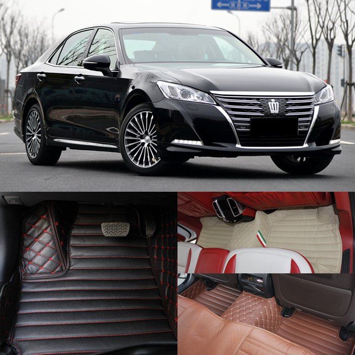 Toyota's new crown footpads 2016 wholly surrounded by ottomans new crown royal stereo leather mat 2.5 wide