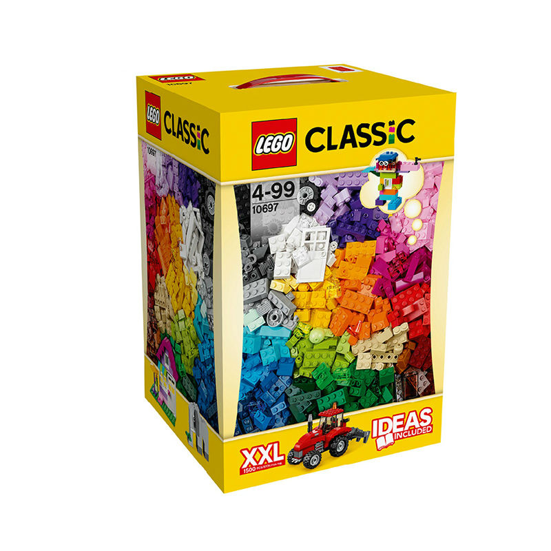 Toys r us lego lego classic series 10697 large creative gift boxes of children fight inserted blocks