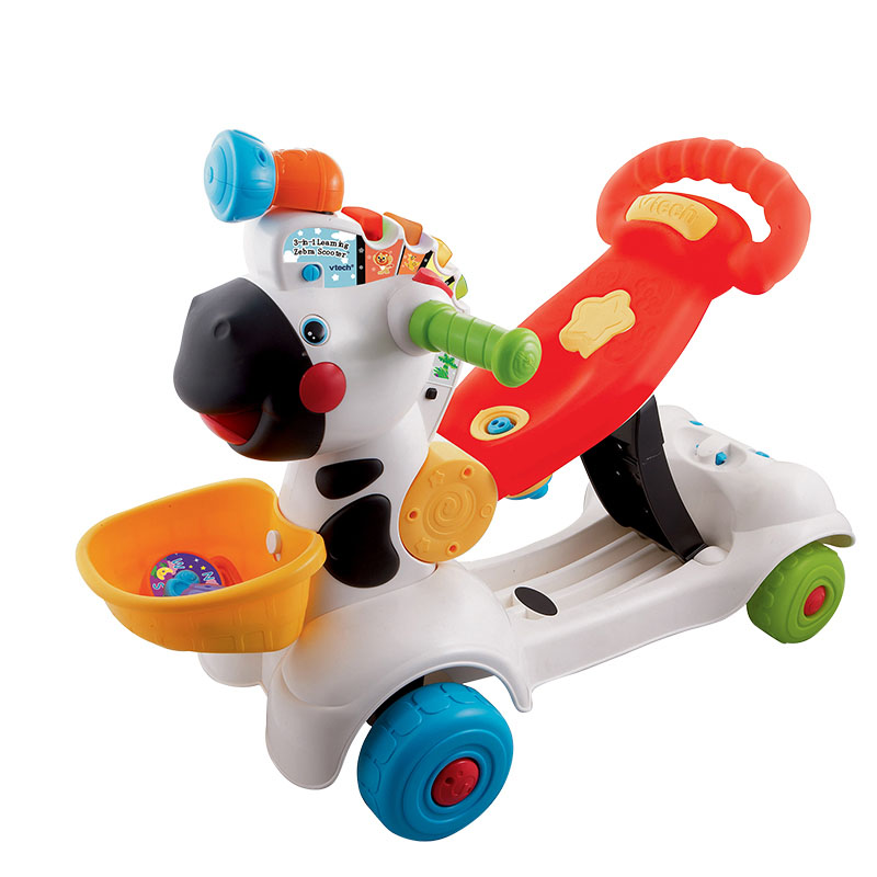 Toys r us vtech small zebra utility toddler toys for children riding scooters driving implementation car scooter