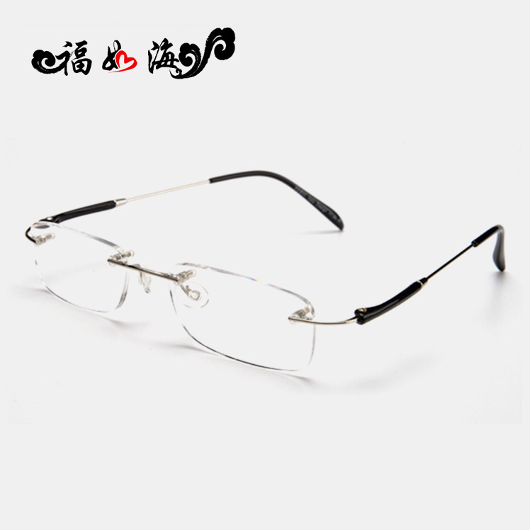 482e2b4d69 Get Quotations · Tr material authentic premium brand ultralight resin reading  glasses reading glasses rimless reading glasses reading glasses