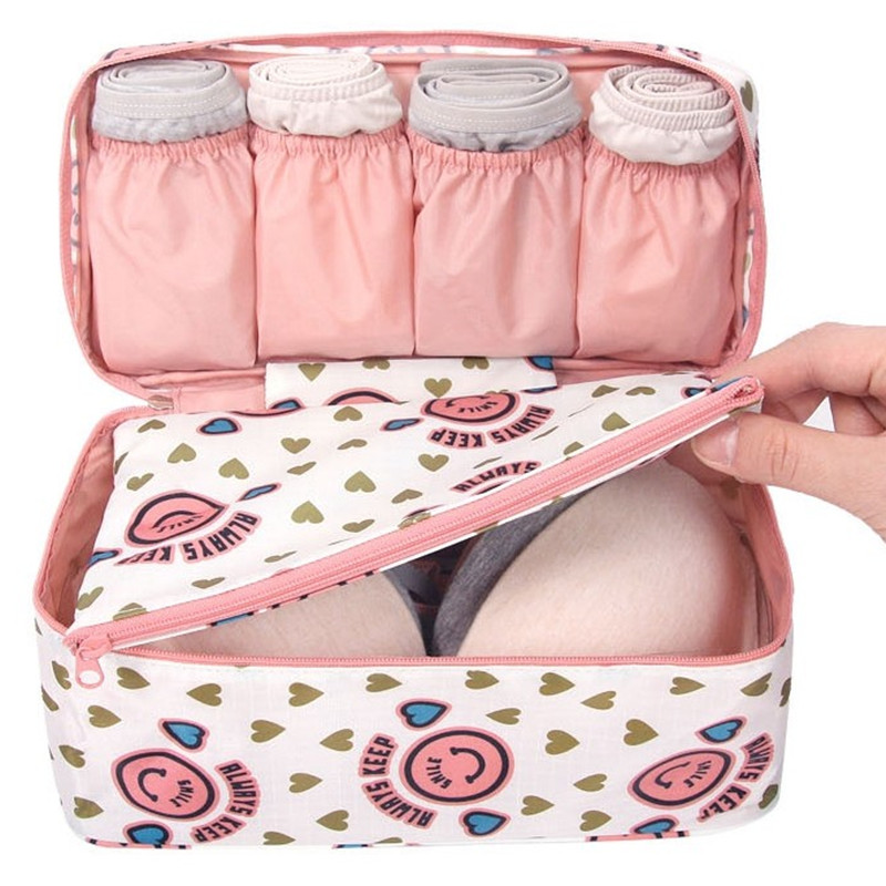 Travel multifunction underwear storage bag bra underwear box finishing waterproof bag storage box