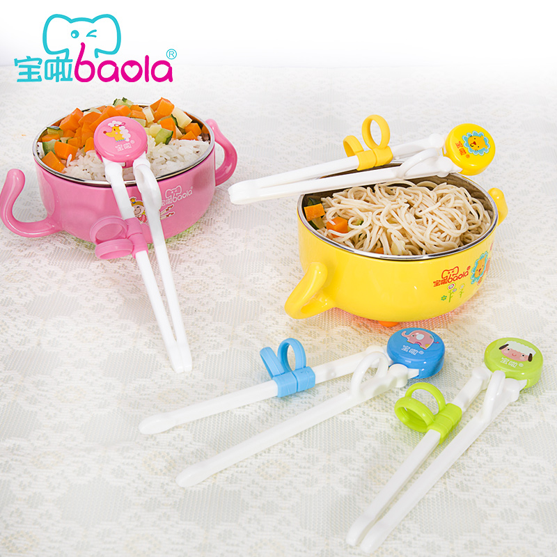 Treasure it for children to practice thanmonolingualsat infants and young children stainless steel tableware chopsticks chopsticks baby learning chopsticks chopsticks chopsticks right training