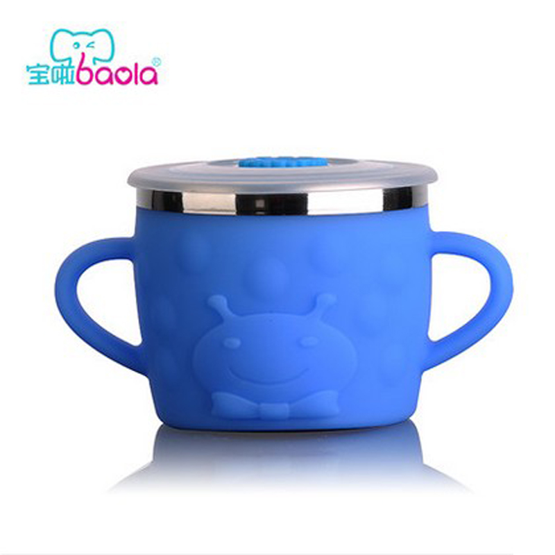 Treasure it stainless steel baby drinking cup with handle cup baby drinking cup learn to drink cup cups children