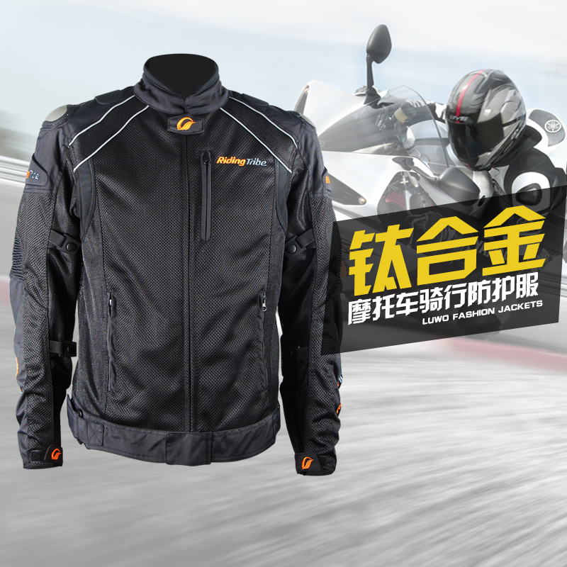 Tribe titanium alloy motorcycle racing knight riding clothes riding clothes for men and women motorcycle popular brands of clothing