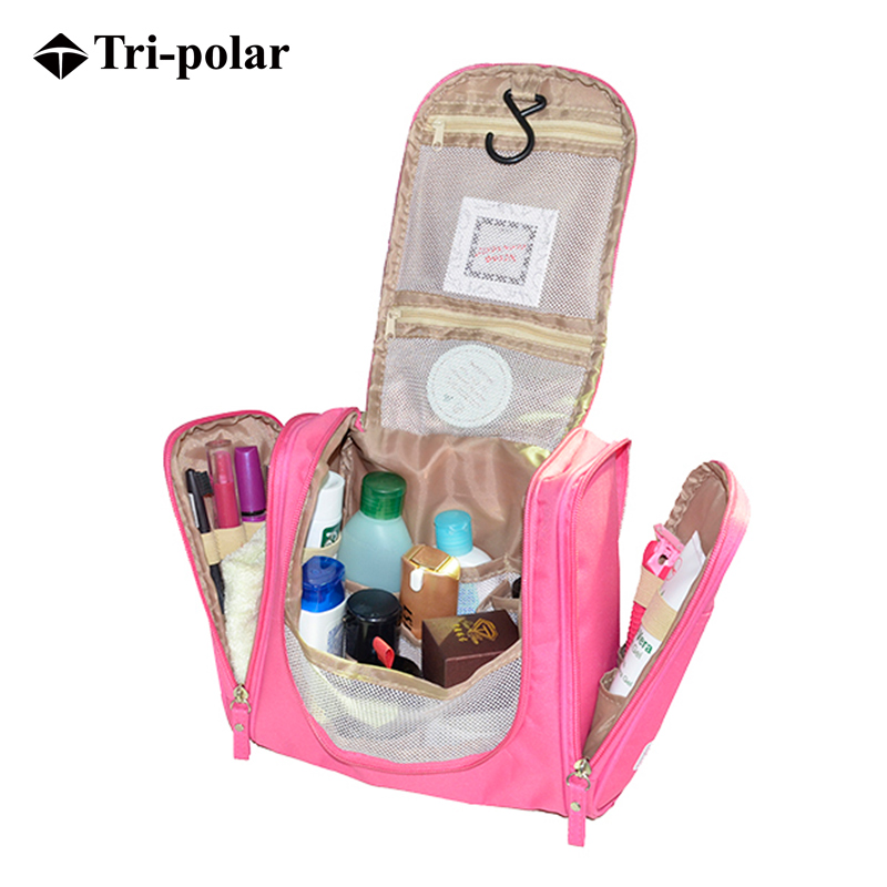 Tripolar outdoor portable travel wash bag waterproof storage bag female models cosmetic bag set of installed capacity travel supplies