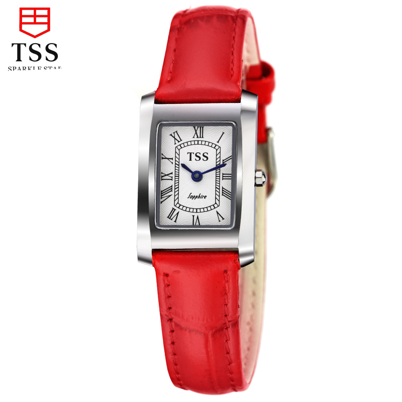 Tss days thinking authentic korean female fashion watches waterproof leather belt female fashion watch fashion quartz watch female students with disabilities