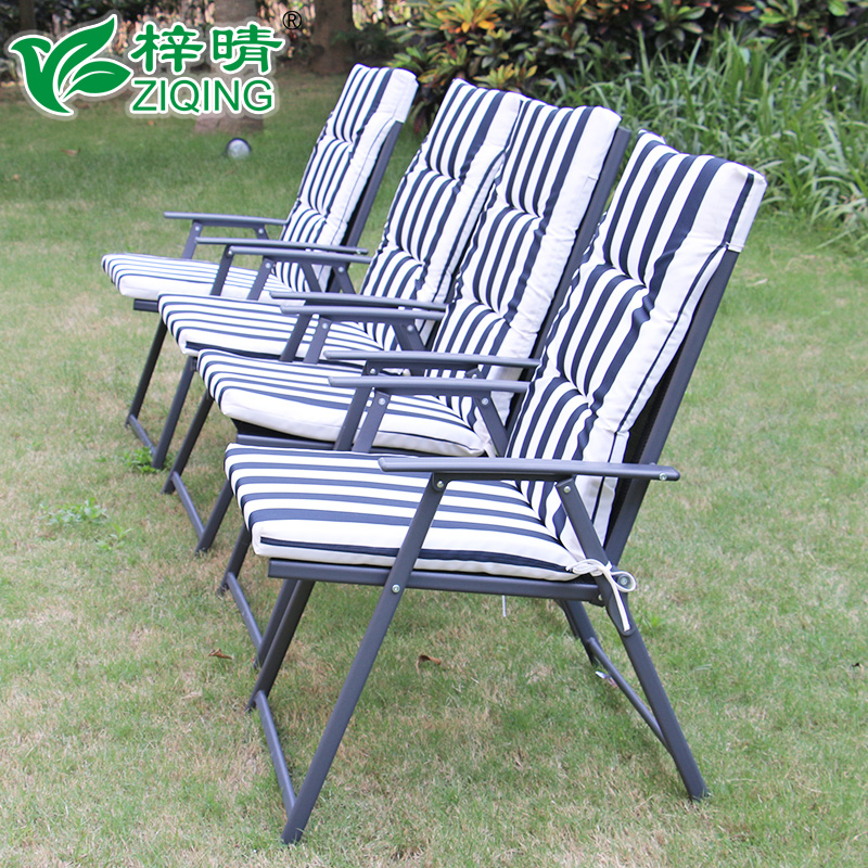 Tsz ching teslin folding tables and chairs for outdoor leisure furniture special cushion