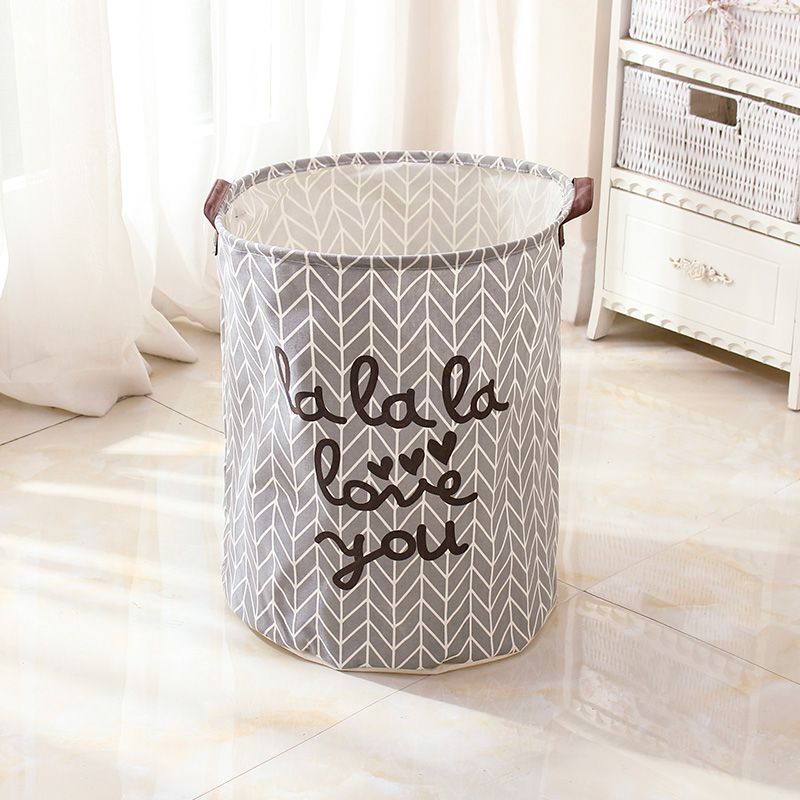 Get Quotations · Tube can be folded laundry basket laundry basket laundry basket laundry basket of clothes laundry basket