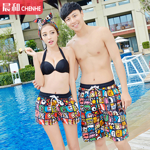 Two shipping lovers beach pants beach lovers bali seaside tourist resort essential casual shorts