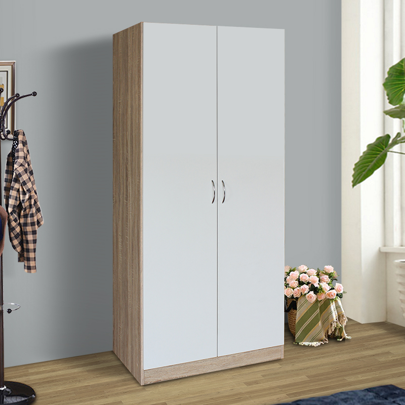 Get Quotations Two Wooden Wardrobe European Children S Bedroom Modern Minimalist Plate Closet White