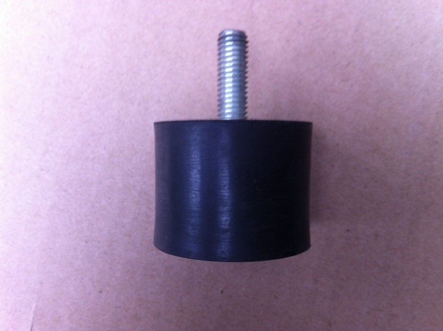 Unilateral rubber shock absorbers/rubber cushion/small motor damper/single thread rubber damping block