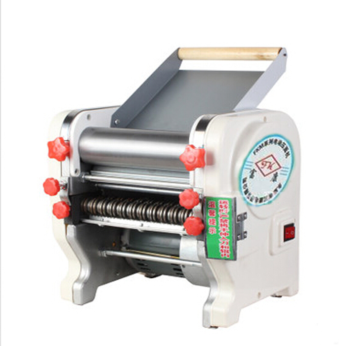 Upgraded stainless steel electric pressing machine manual pasta machine 200 commercial aircraft type ganmian large motor home free shipping