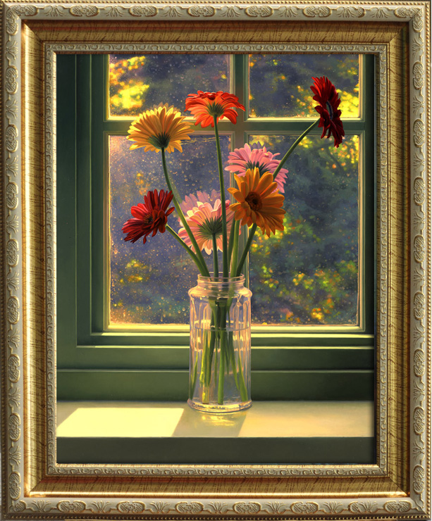 Upscale european american country framed painting/oil painting frame frame custom made to order