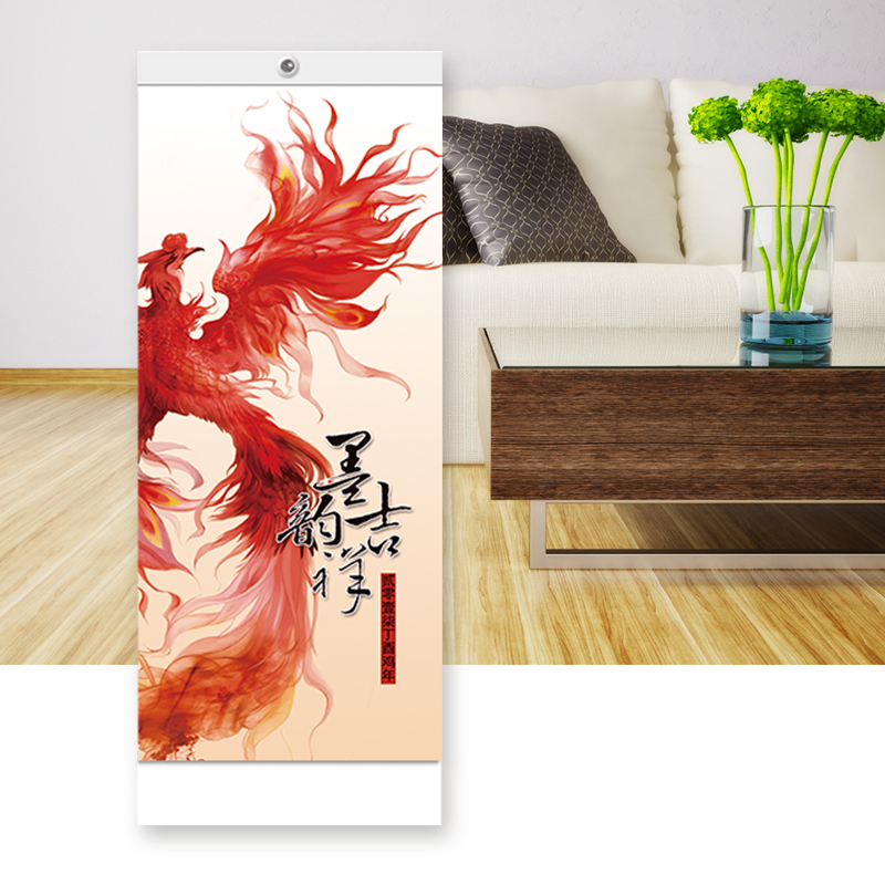 Upscale minimalist elongated calendar 2017 company custom printed advertising desk calendar calendar calendar year of the rooster retail