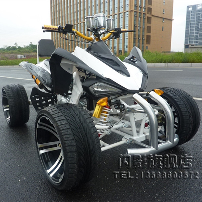 Urban charm & rarr; 14 inch road tires zongshen cooled 200cc big mars atv quad bike disc brakes Car