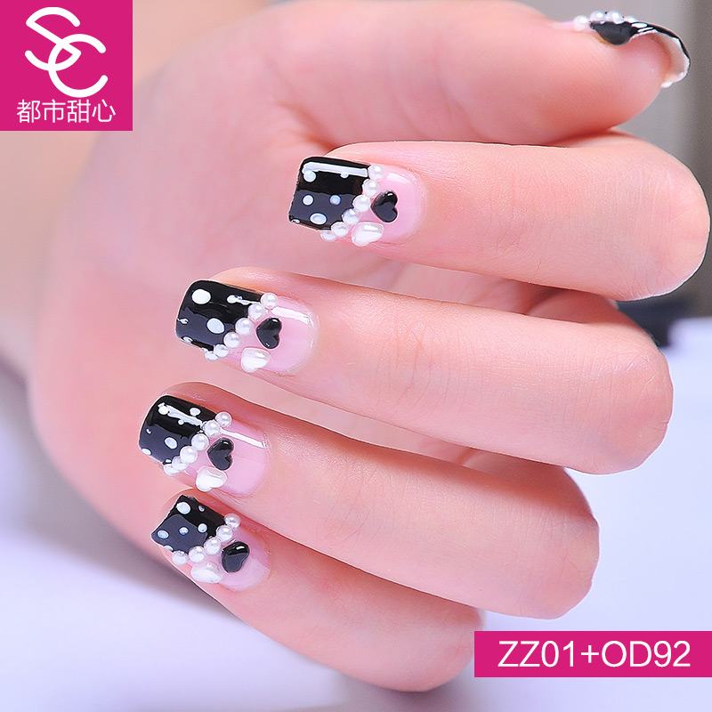 Urban sweetheart pearl pearl flower patch applique patch nail jewelry diy nail patch nail patch