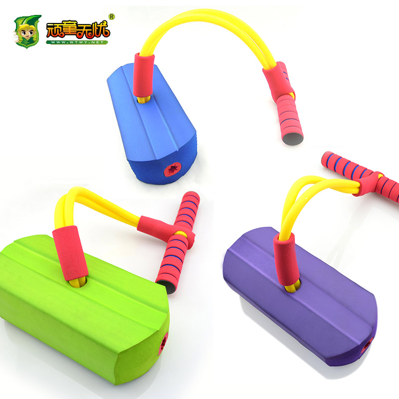 Urchin worry children with sound bouncing frog jumping toys sports games sports and fitness equipment training
