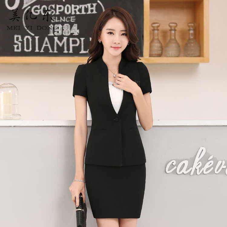 Us billion east spring and summer ol career suits women wear women's suits dress skirt suits overalls slim konishi
