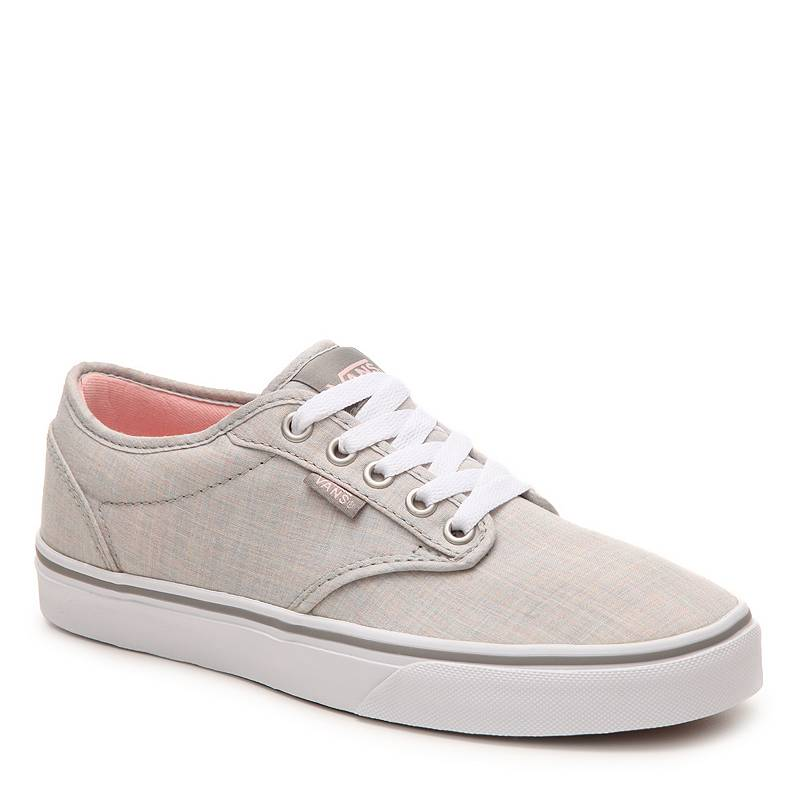 Us direct mail vans/vance genuine 354284 simple solid color breathable lace canvas shoes to help low shoes