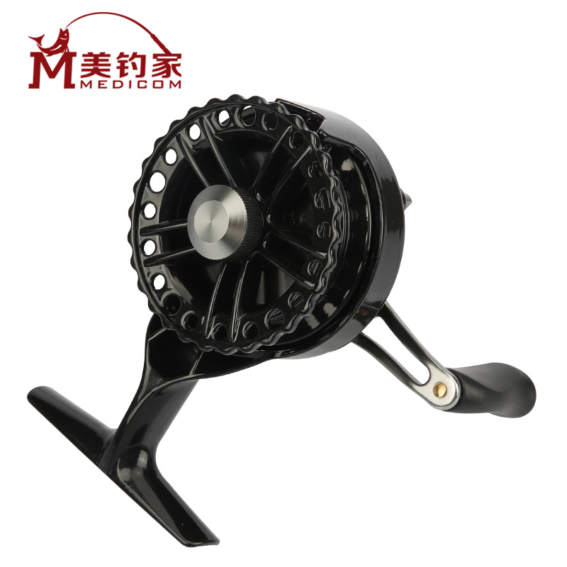 Us fishing raft raft reels micro lead raft reels full metal outlet speed with vent force raft raft pole pole Front wheel hit the wheel cutting wheel