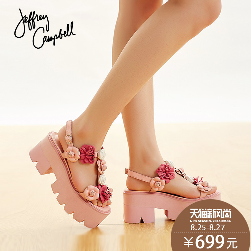 612729c0f6a Buy Us jeffrey campbell woven rainbow models muffin platform shoes flat  shoes sandals velcro shoes at the end of in Cheap Price on Alibaba.com