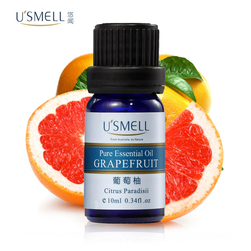 Usmell leisurely smell of essential oils of grapefruit 10 ml aromatherapy essential oils remove acne oil control skin firming