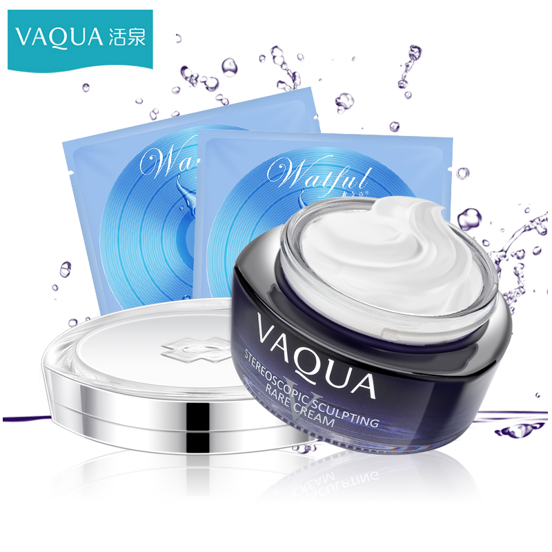 Vaqua/three-dimensional plastic yan firming cream fountain