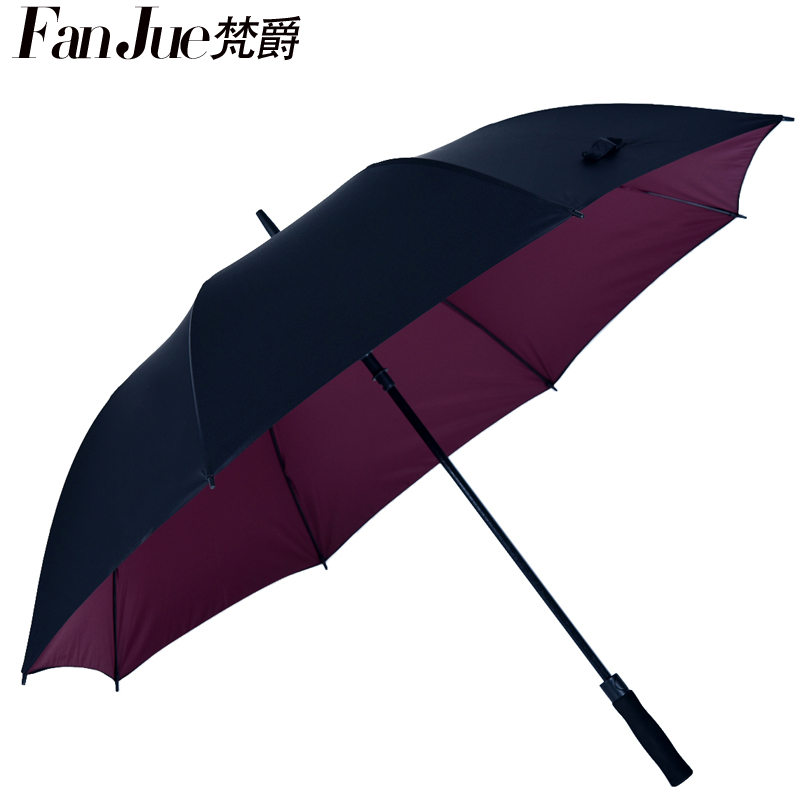 Vatican jazz oversized umbrella long umbrella creative advertising umbrella oversized men's double retro windproof umbrella reinforcement