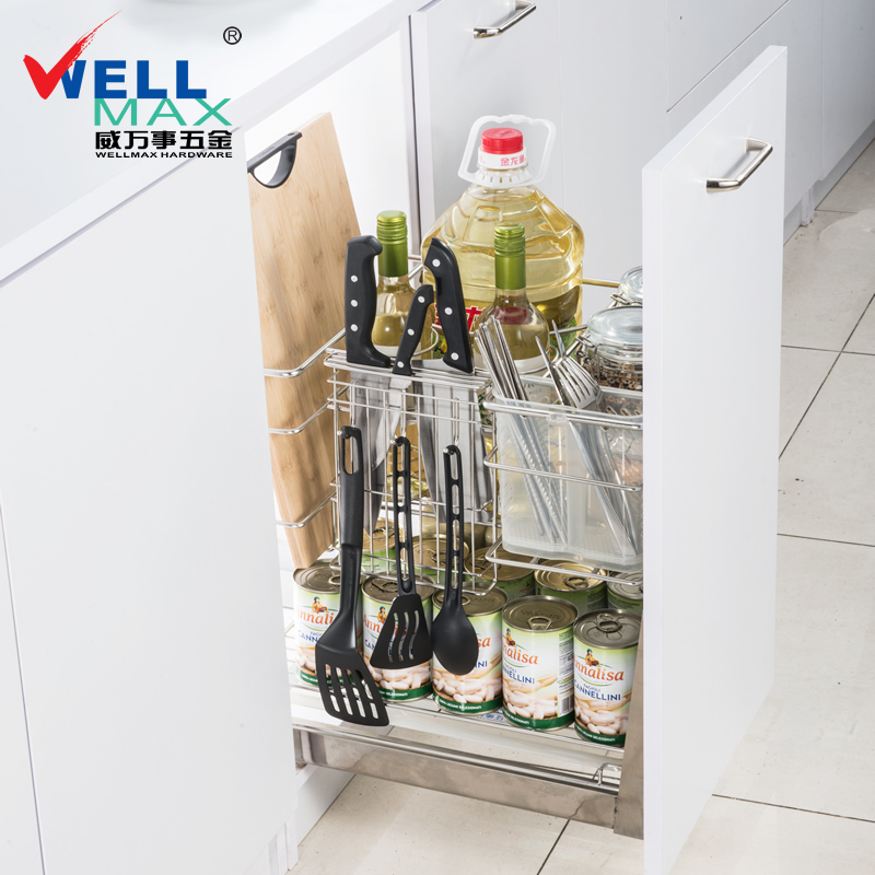 Viagra mastercard/wellmax stainless steel multifunction shelving cabinets seasoning basket kitchen cabinets baskets baskets