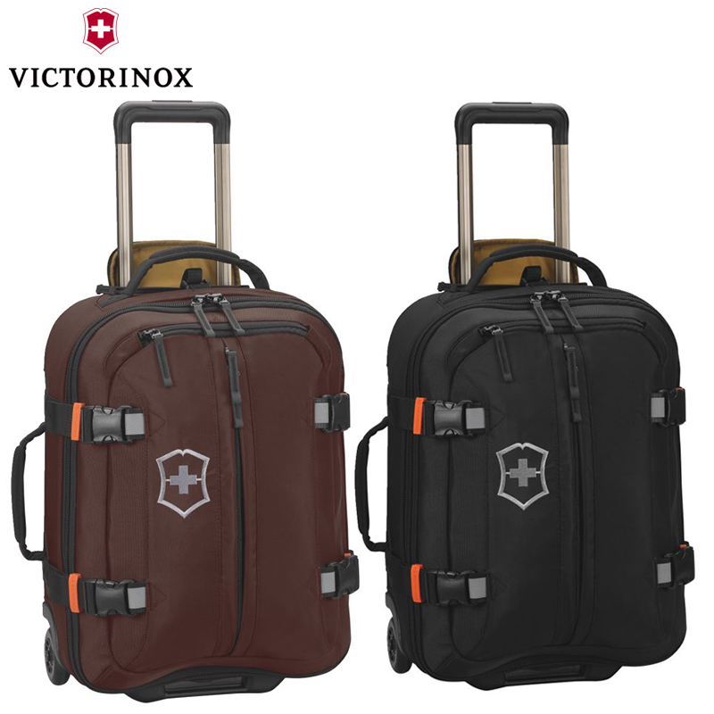 eaa155b60 Get Quotations · Victorinox/victorinox swiss army knife business travel  luggage trolley case 19 inch ballistic nylon suitcase
