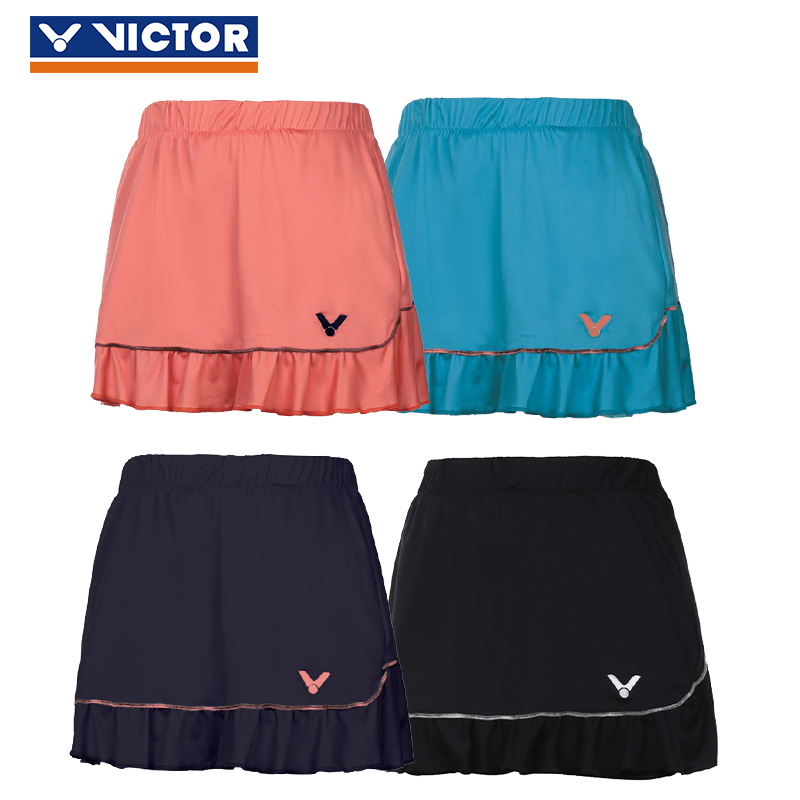 895681932e5e7 Get Quotations · Victory victo sports skorts summer female models running  genuine victor badminton ball gown anti emptied 6195