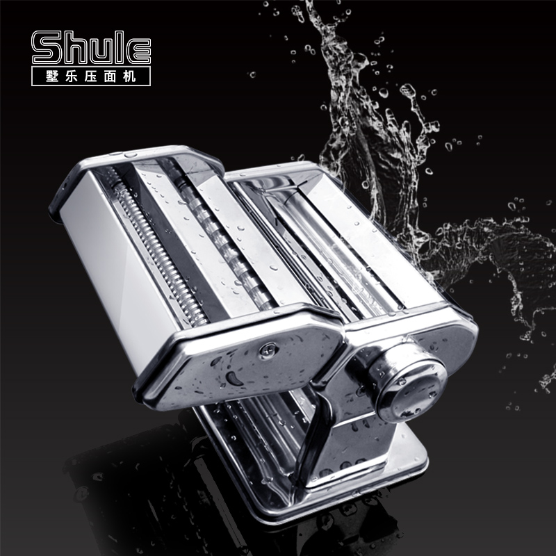 Villa le small household manual pasta machine pressing machine washable stainless steel manual ganmian machine dumpling skin Machine