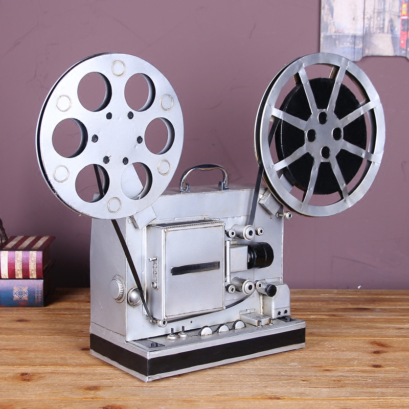 Vintage projector ornaments creative home decorations ornaments wine cafe retro ornaments crafts home furnishings